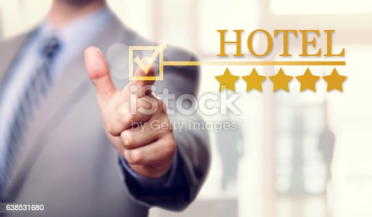 istock Five stars luxury Hotel accommodation and service 638531680