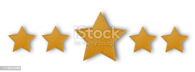 istock Five Stars 1178823068