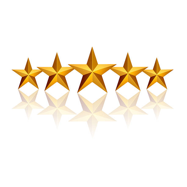 five stars - five objects stock pictures, royalty-free photos & images
