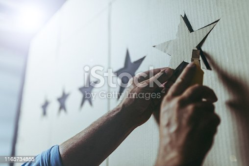 istock Five stars rating concept 1165734855