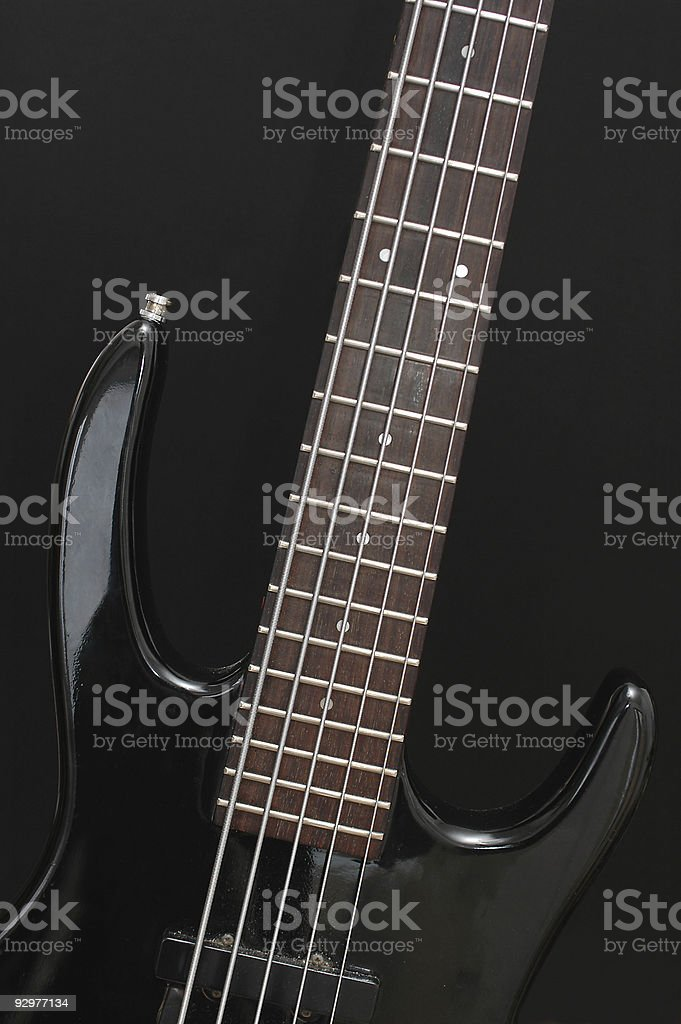 Five string electric bass guitar