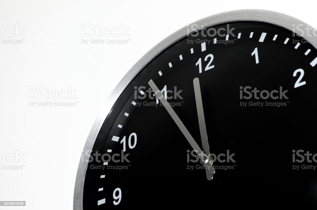 Five To Midnight stock photo