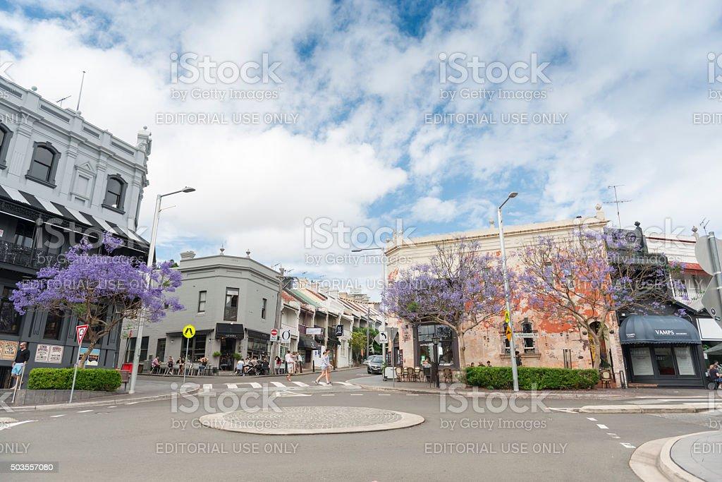 Five Ways Paddington Sydney stock photo