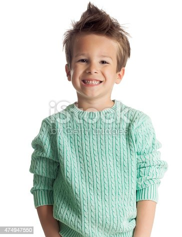 istock Five Year Old Boy 474947550