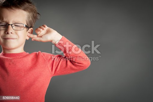 istock Five Year Old Boy 526558440