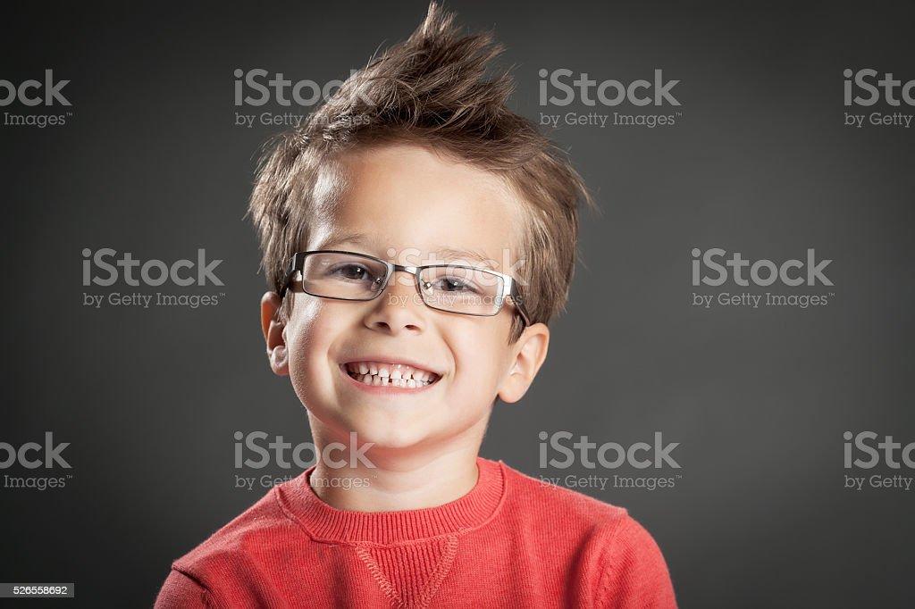 Cinco ano de idade menino - foto de acervo