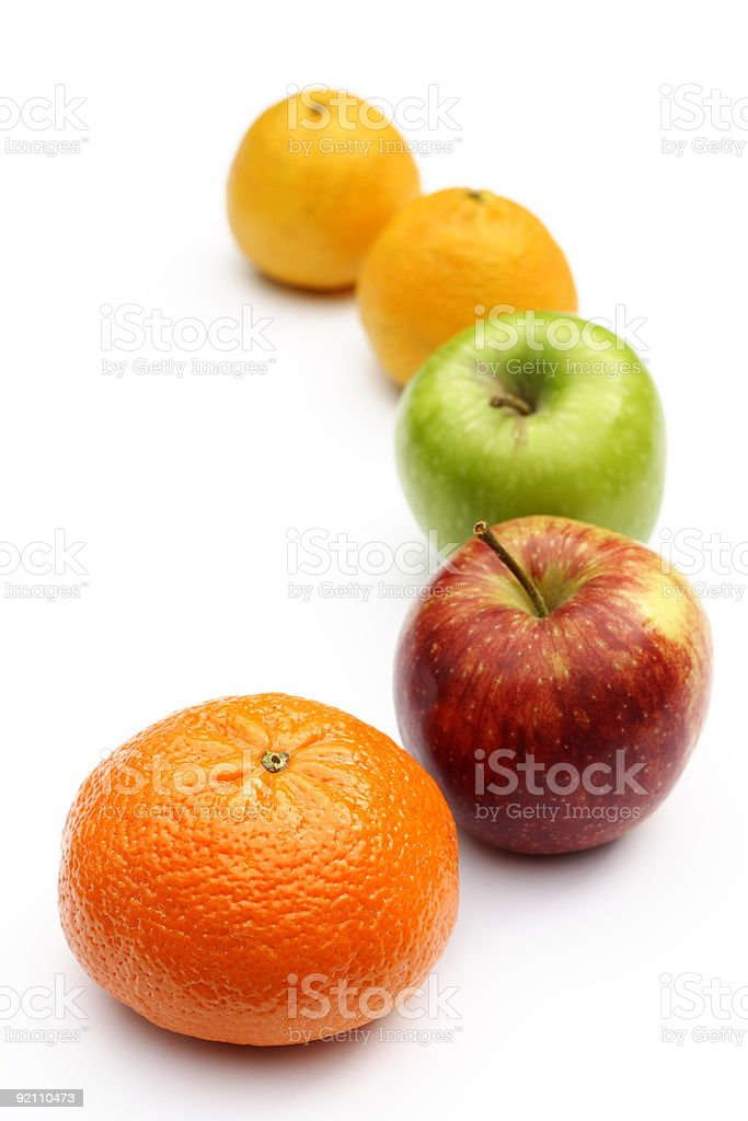 Five-a-day royalty-free stock photo