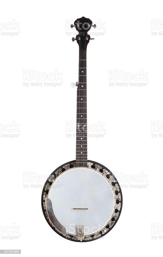 Five-String Banjo stock photo
