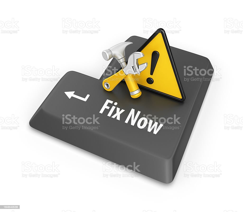 fix now royalty-free stock photo