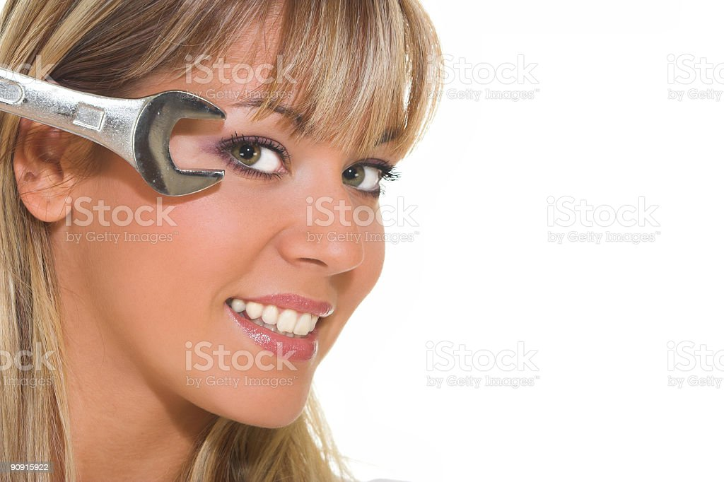 Fix your sight royalty-free stock photo