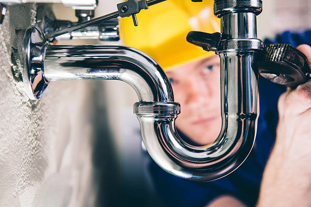 fixed! - plumber stock photos and pictures