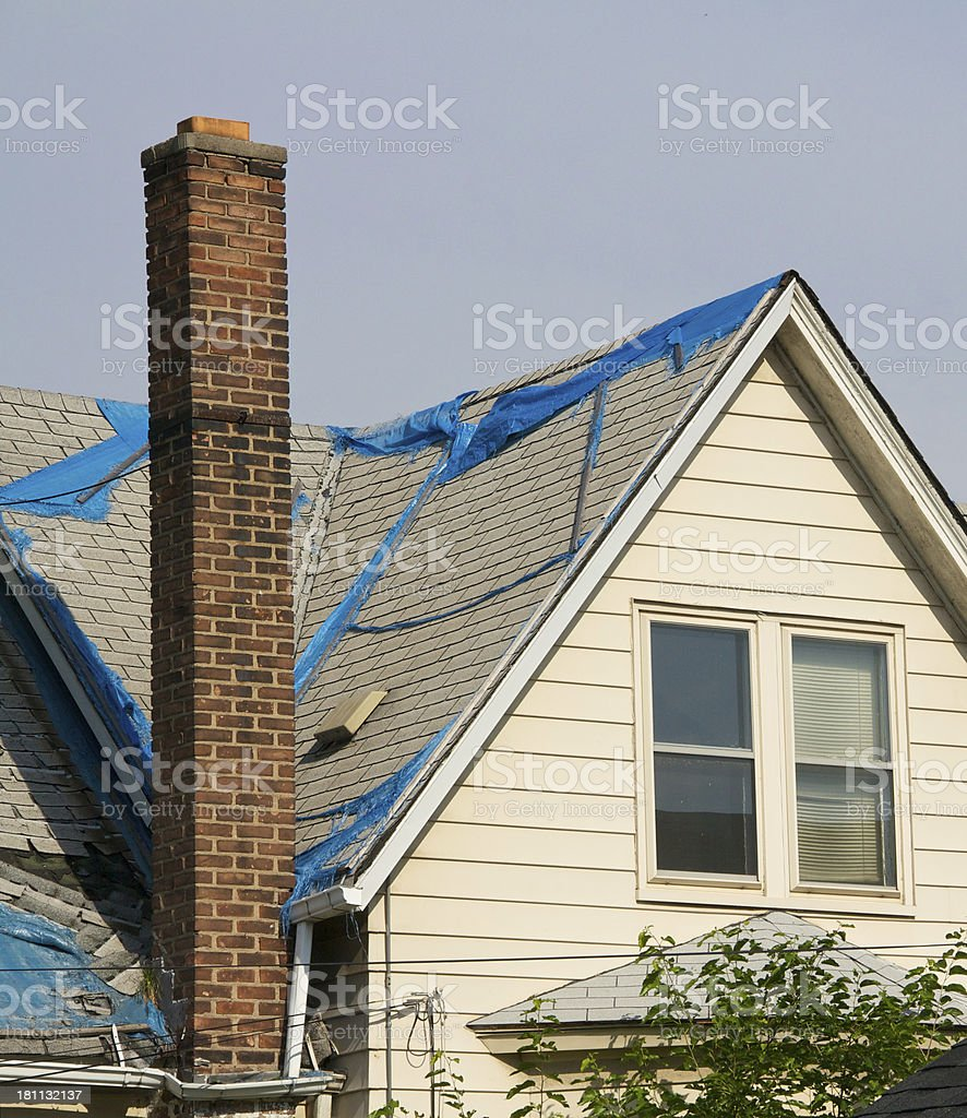 Fixer Upper House stock photo