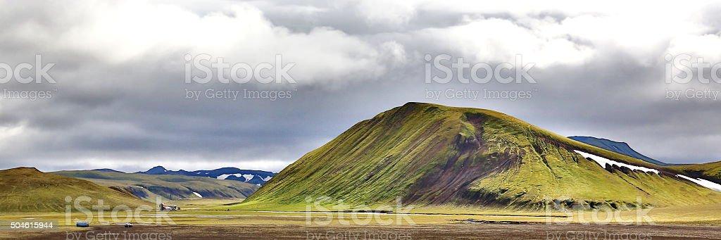 Fjallabak, Iceland stock photo