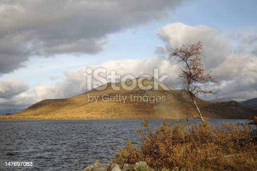 Fjeld Malla in the autumn.