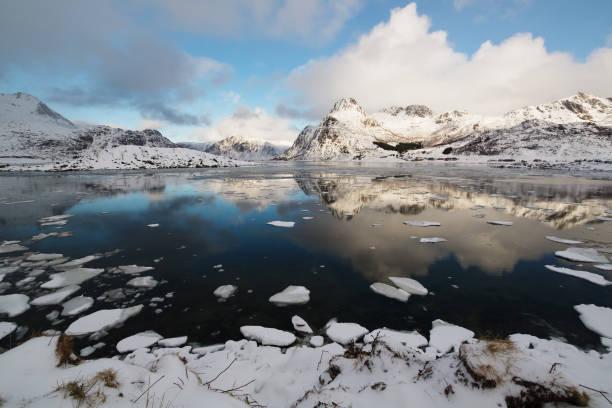 Fjord in Norwegen – Foto