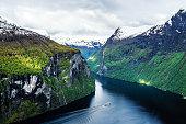 Geirangerfjord, Norway, Fjord, Geiranger, Northern Europe