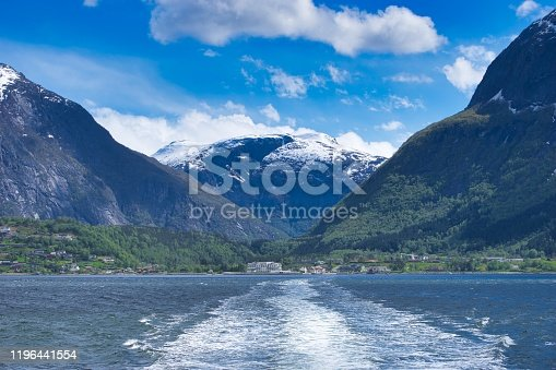 the Hardangerfjord (near Bergen) is the third longest fjord in the world.