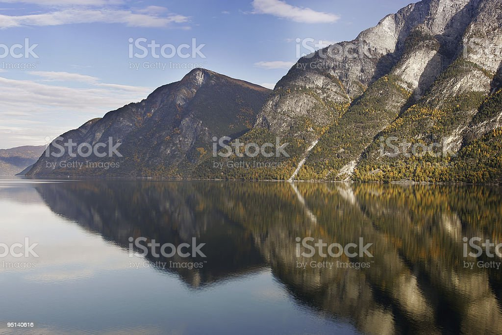 fjord - norway royalty-free stock photo