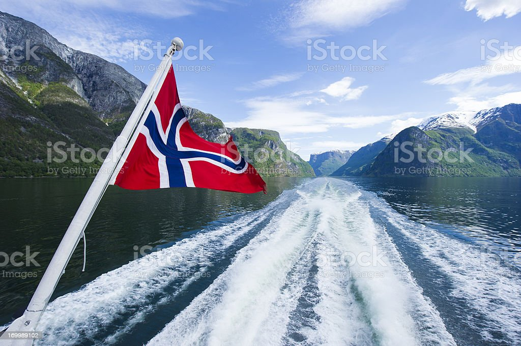 Fjords of Norway stock photo