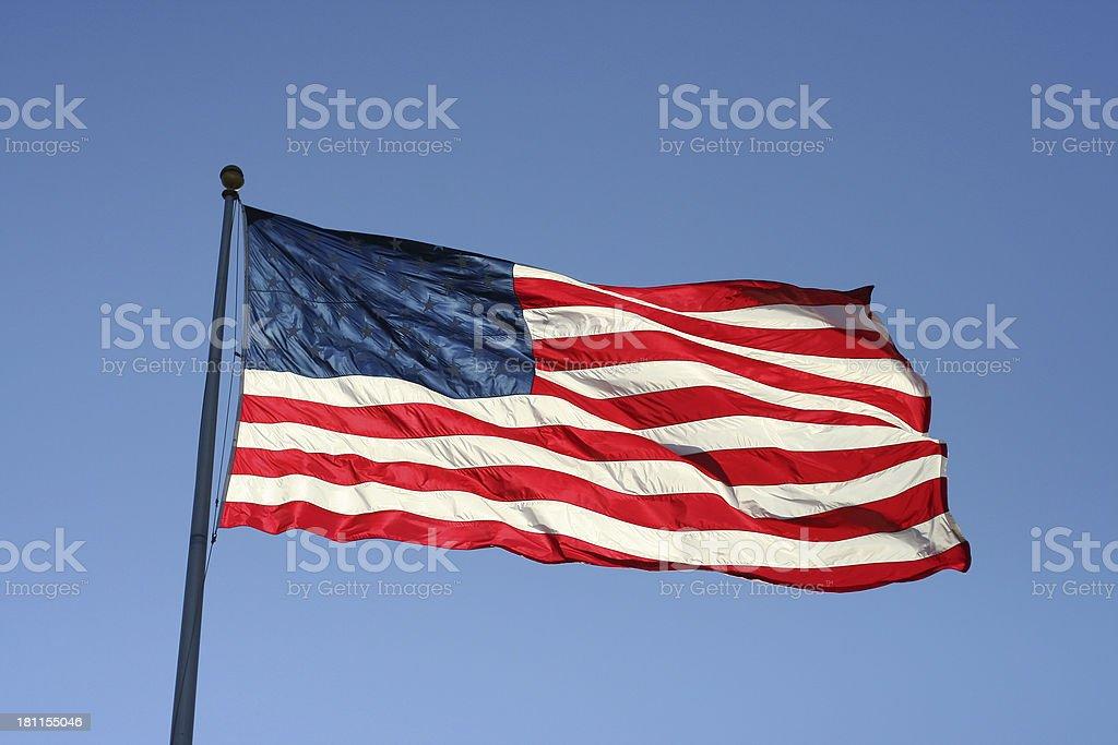 USA - Flag 02 royalty-free stock photo