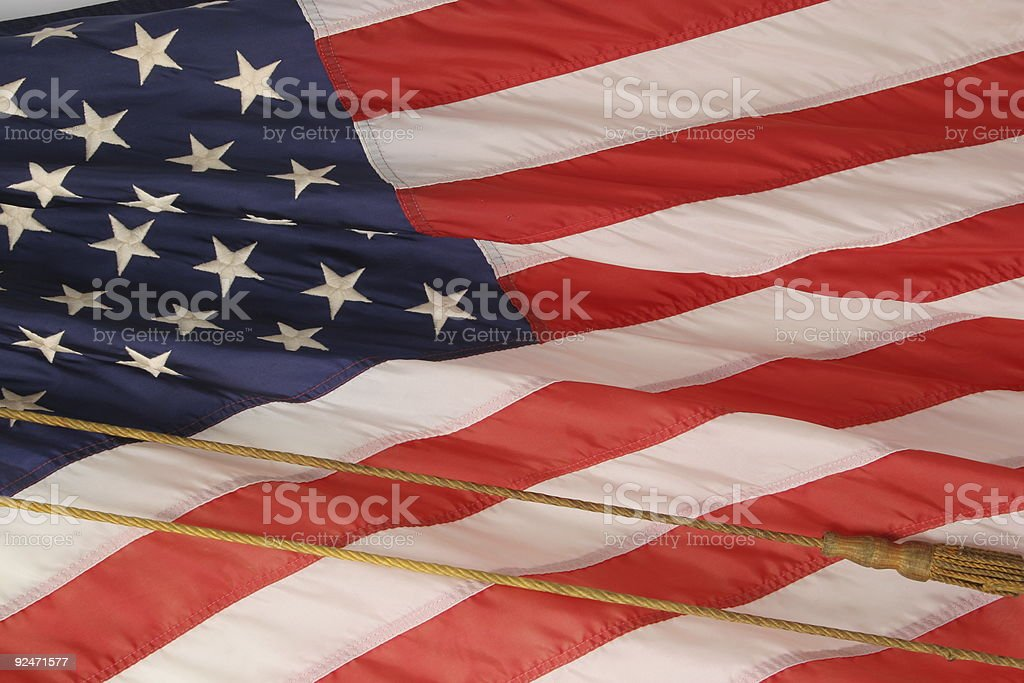 Flag 1 stock photo