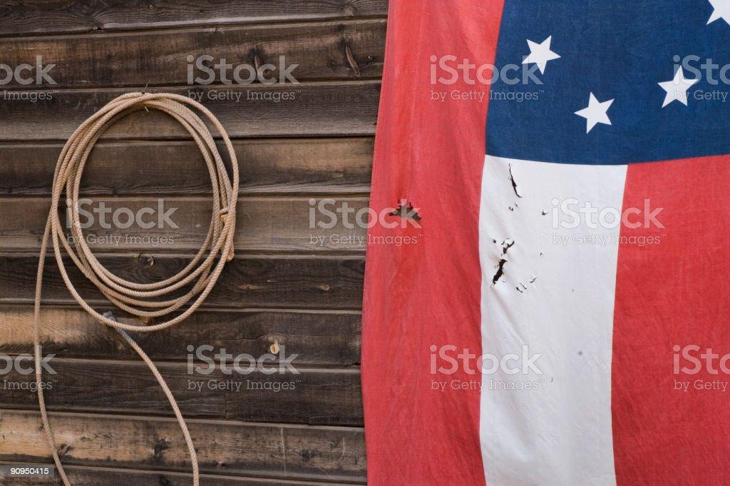 Flag 13 Stars royalty-free stock photo