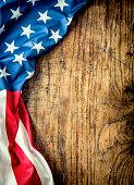 istock USA flag. American flag. American flag freely lying on table. 638667546