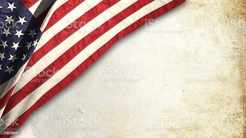 Flag american stock photo