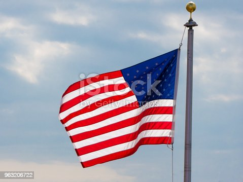 831661634istockphoto USA flag background. American symbol of fourth of July Independence Day, democracy and patriotism 963206722