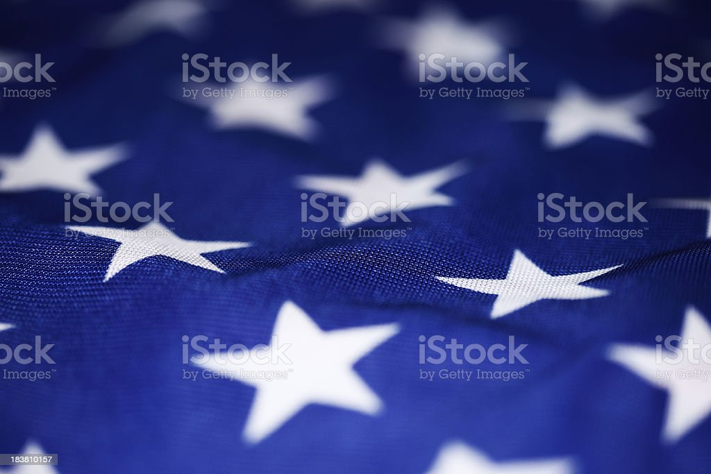 U.S. Flag Background stock photo