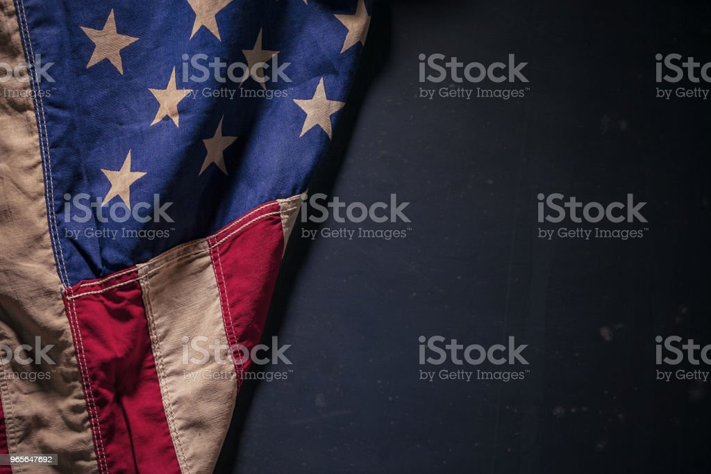 US Flag Background stock photo