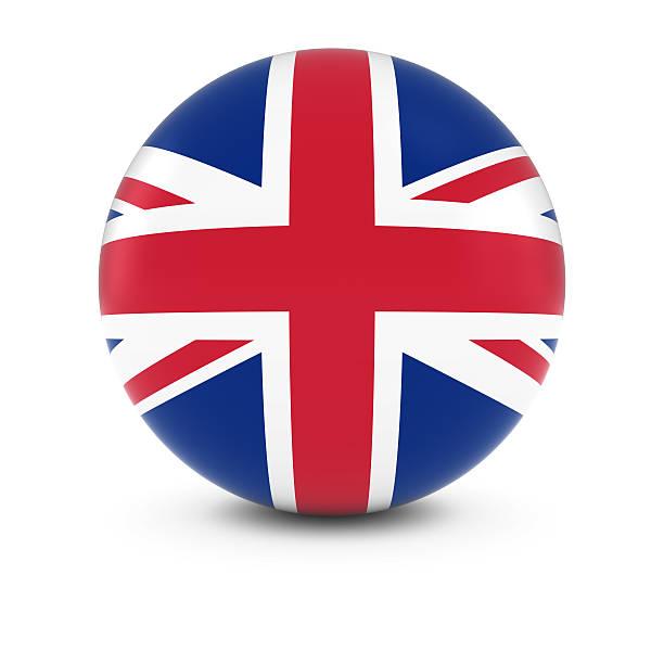 Cтоковое фото UK Flag мяч флаг Соединенного Королевства сфере