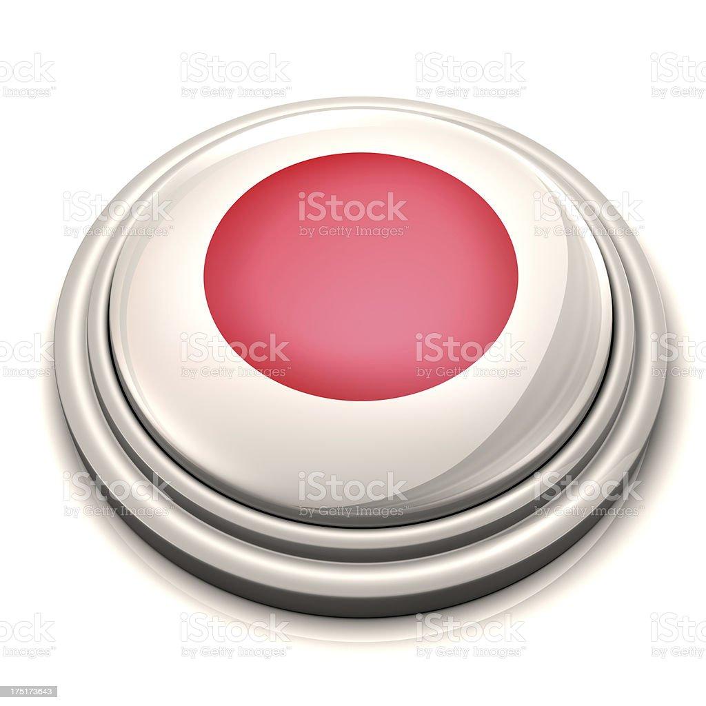 Flag Button - Japan royalty-free stock photo
