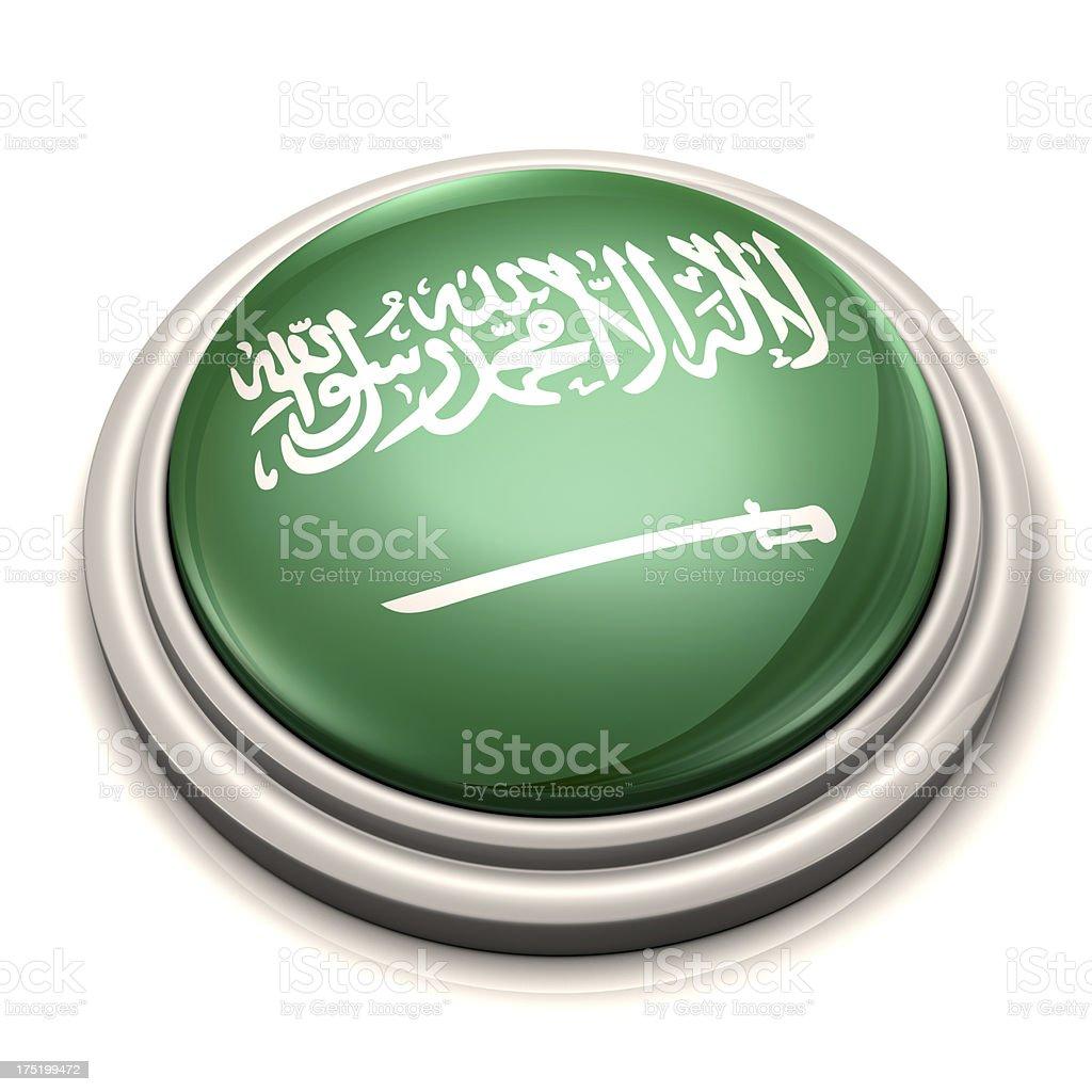 Flag Button - Saudi Arabia royalty-free stock photo