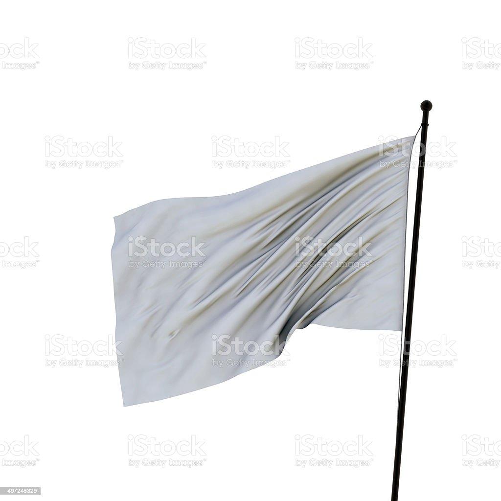 flag collection XXL white flag stock photo
