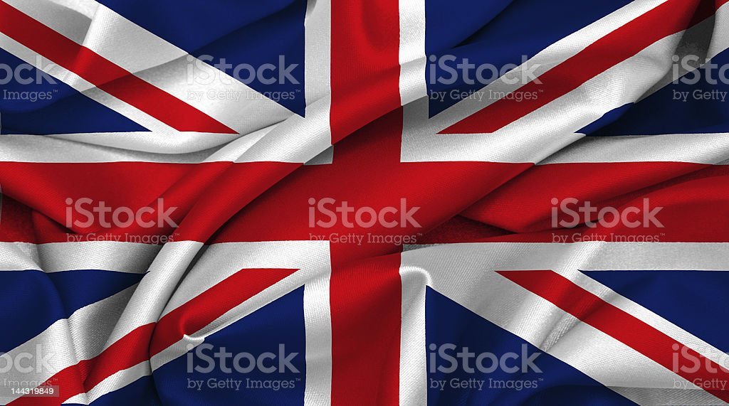 UK flag - Great Britain stock photo