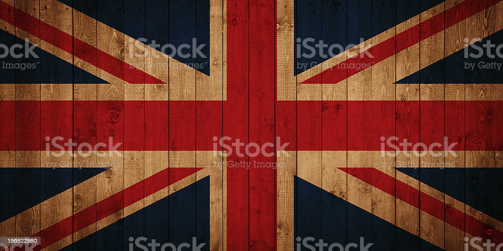 Flag - Great Britain royalty-free stock photo