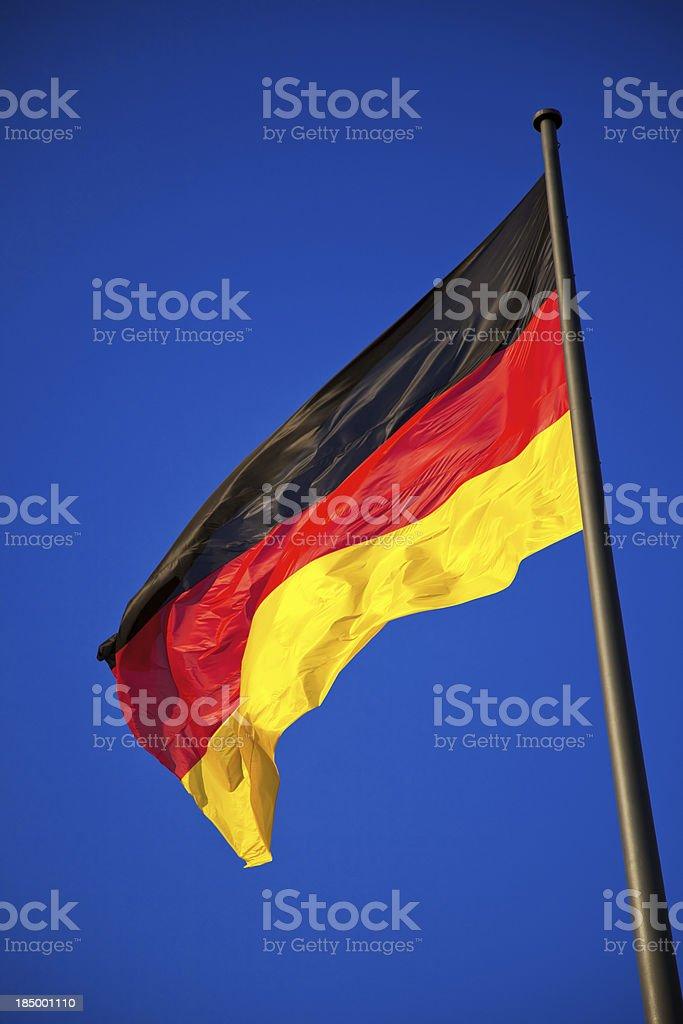 Flagge in der Hauptstadt – Foto