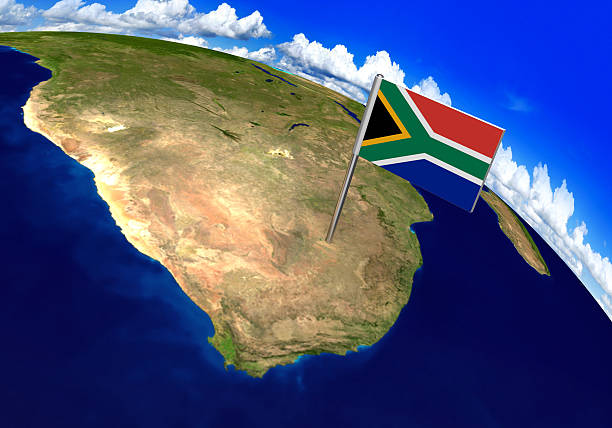 Royalty Free South Africa Map Pictures Images And Stock Photos Istock