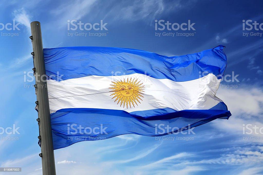 Bandera de Argentina - foto de stock