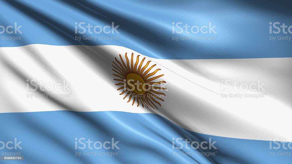 Bandeira da Argentina  - foto de acervo