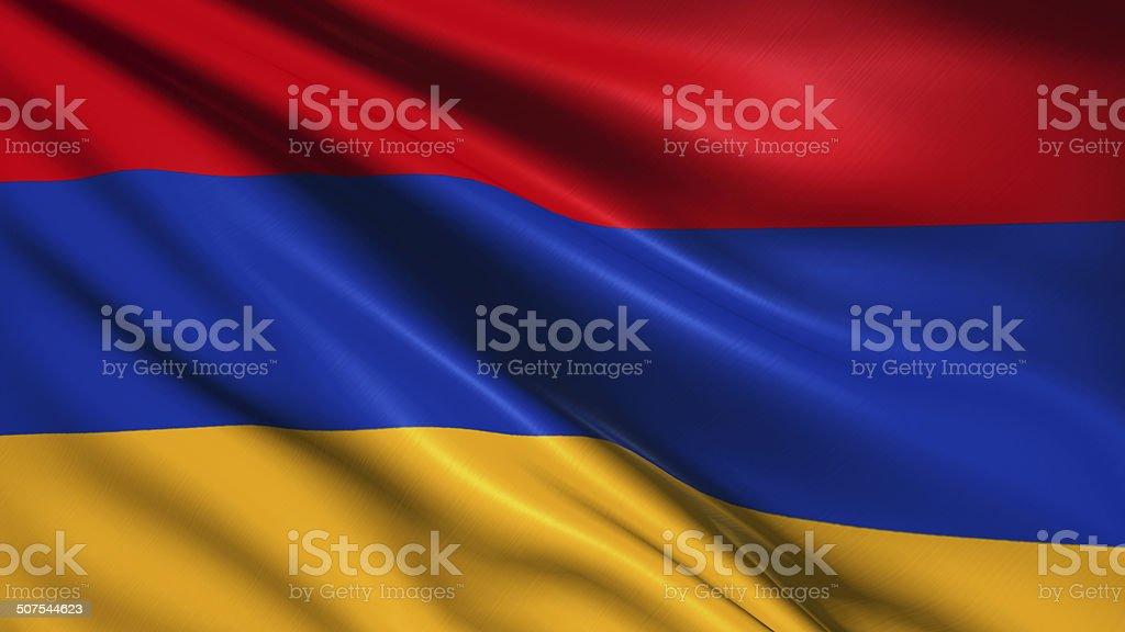 Flaga Armenii – zdjęcie