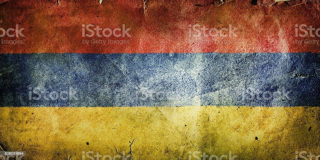 flag of Armenia stock photo