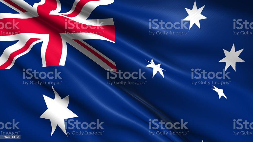 Flaga Australii zbiór zdjęć royalty-free