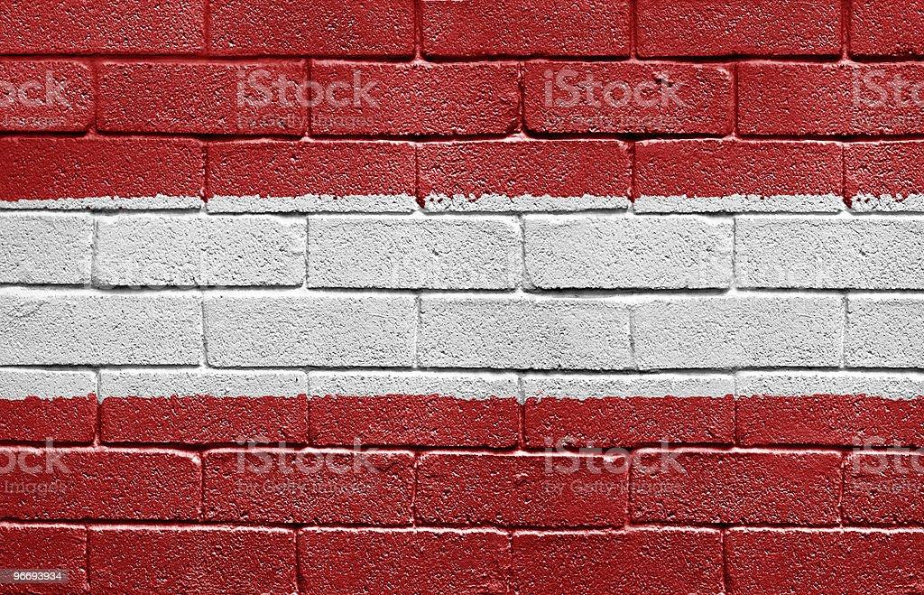 Flag of Austria royalty-free stock photo