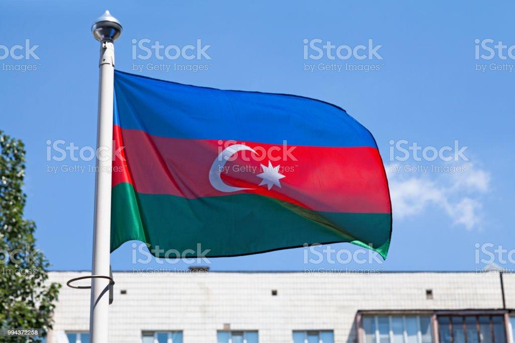 Drapeau de l'Azerbaïdjan  - Photo