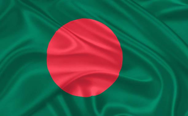 Flag of Bangladesh, stock photo