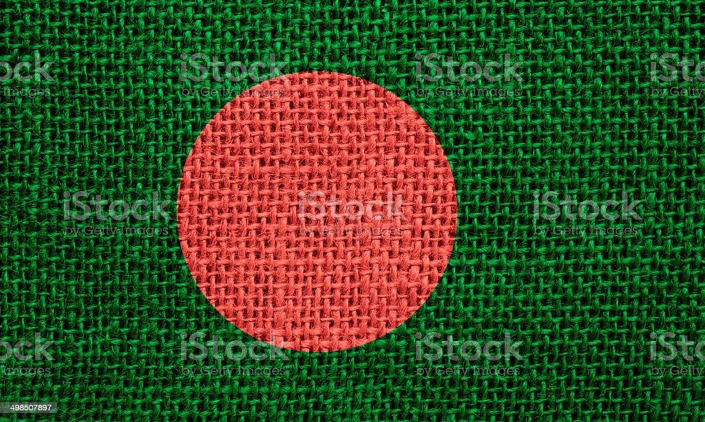 Flagge von Bangladesch – Foto