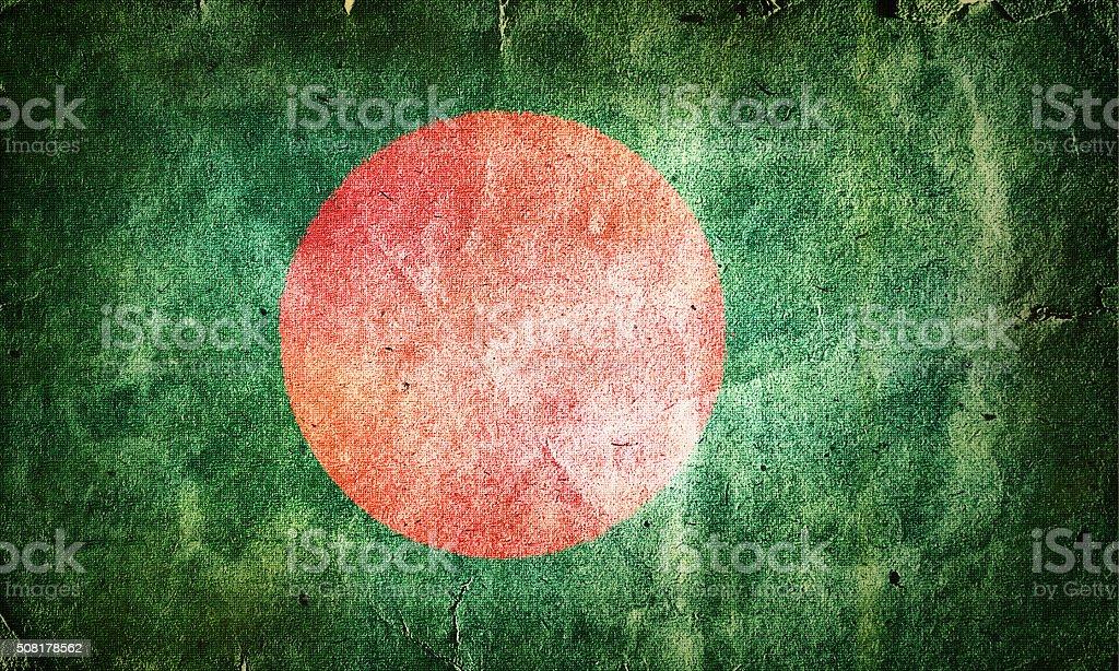 Flag of Bangladesh stock photo
