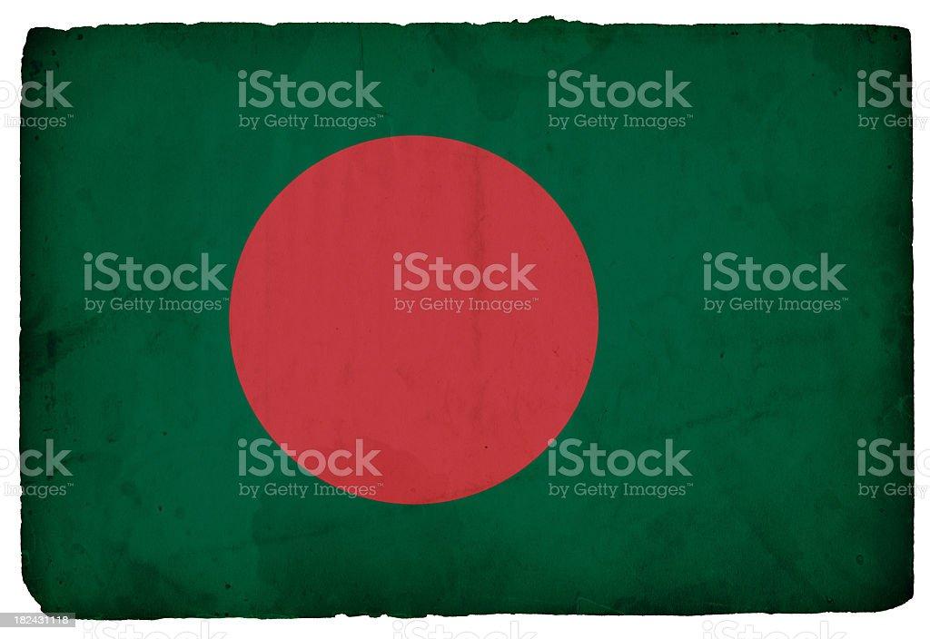 Flag of Bangladesh - XXXL stock photo